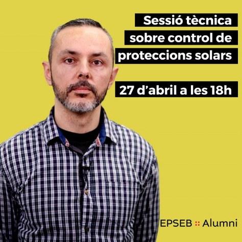Sessió tècnica sobre control de proteccions solars