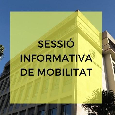 Sessió informativa de mobilitat internacional