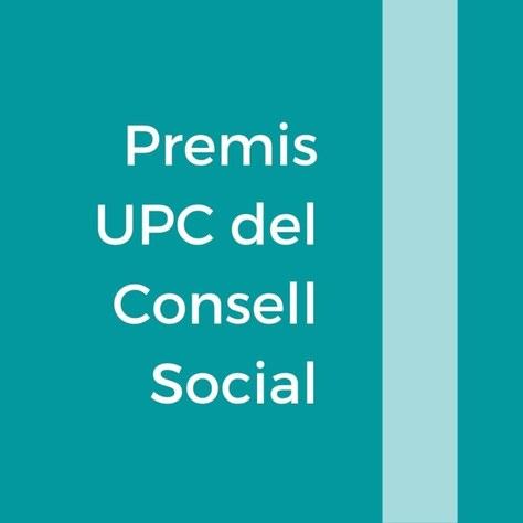 Premis i reconeixements del Consell Social de la UPC