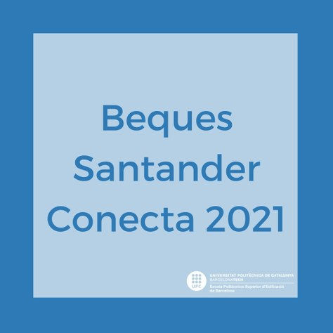 Oferta de beques Santander Conecta 2021