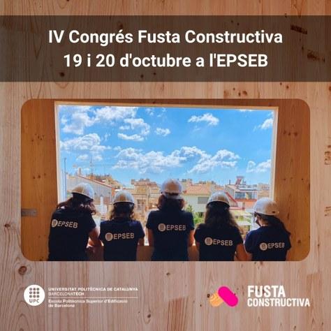 IV Congrés Fusta Constructiva