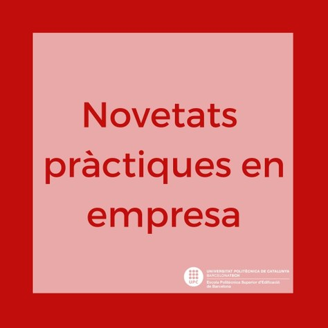 NOVETATS Pràctiques en empresa