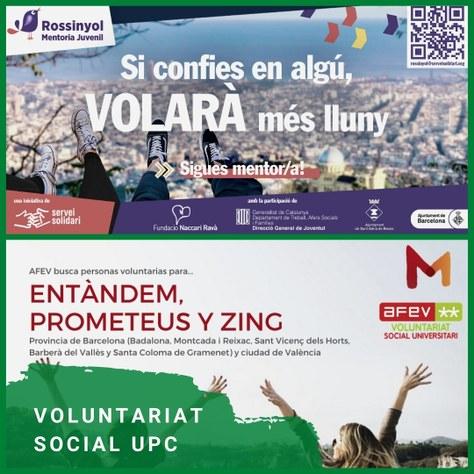 Voluntariat social UPC