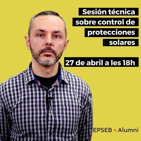 Sesión técnica sobre control de protecciones solares