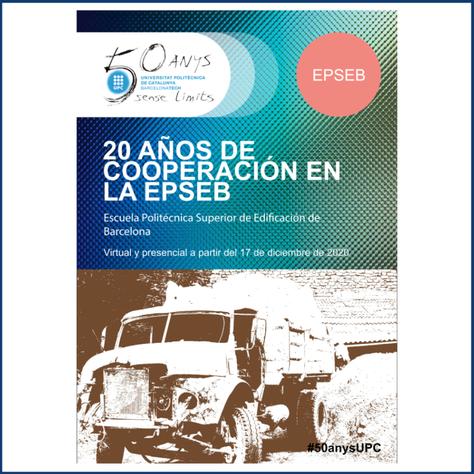 Exposición 20 años de cooperación en la EPSEB