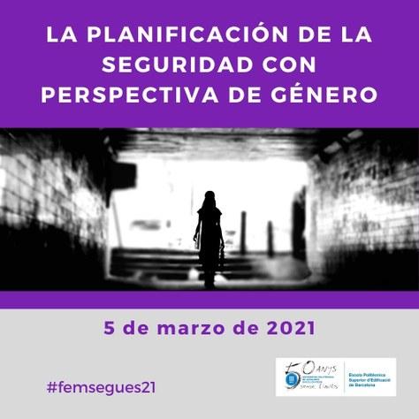 """Jornada """"La planificación de la seguridad con perspectiva de género"""" 2021"""