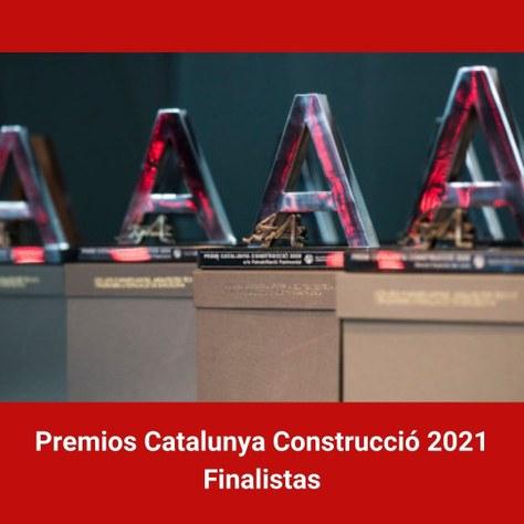 Titulados de la EPSEB finalistas al mejor TFG de los Premios Catalunya Construcció 2021