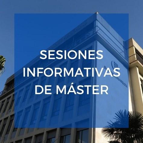 Sesiones informativas de másteres