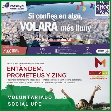 Voluntariado social UPC