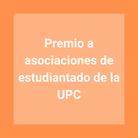 Premio a asociaciones de estudiantado de la UPC